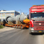 Recent Works - Twisted Tube - Likoudis Heavy Transportation & Lifting
